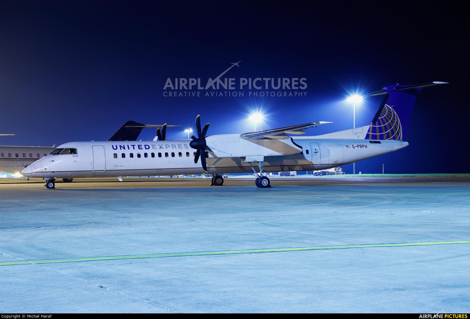 United Express G-PRPH aircraft at Dublin