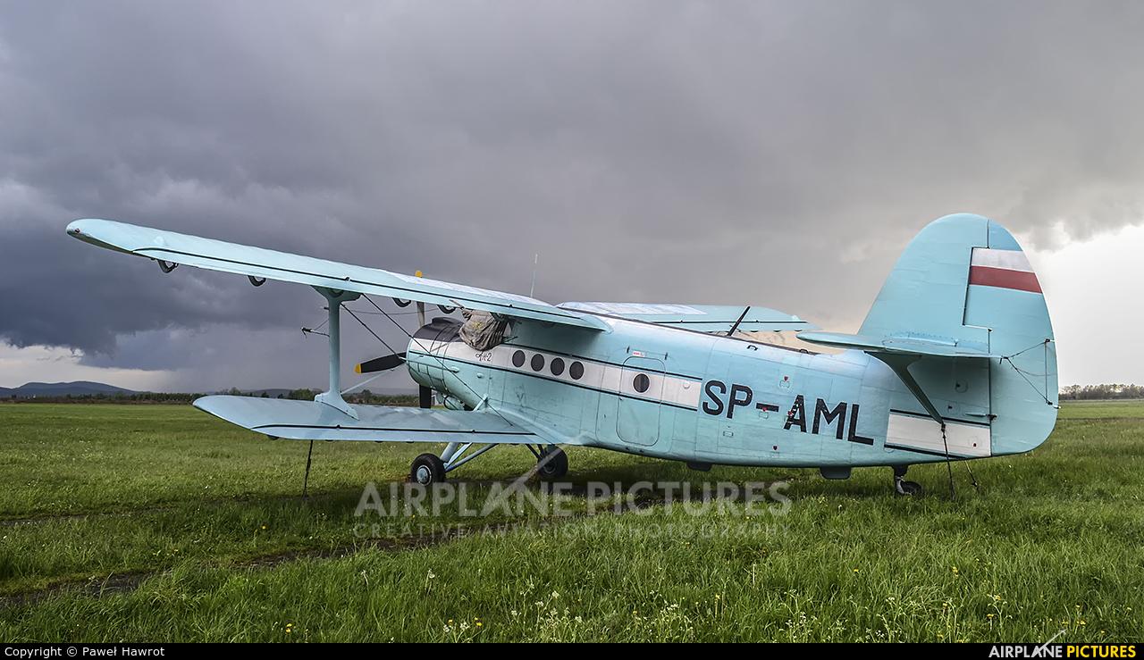 Aeroklub Podkarpacki SP-AML aircraft at Krosno
