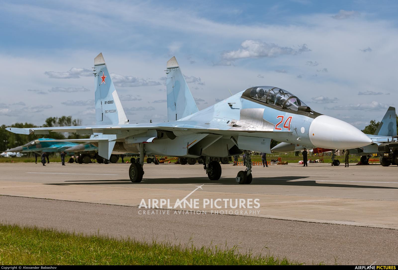 Russia - Air Force RF-95003 aircraft at Kubinka
