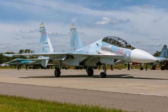 RF-95003 - Russia - Air Force Sukhoi Su-30SM