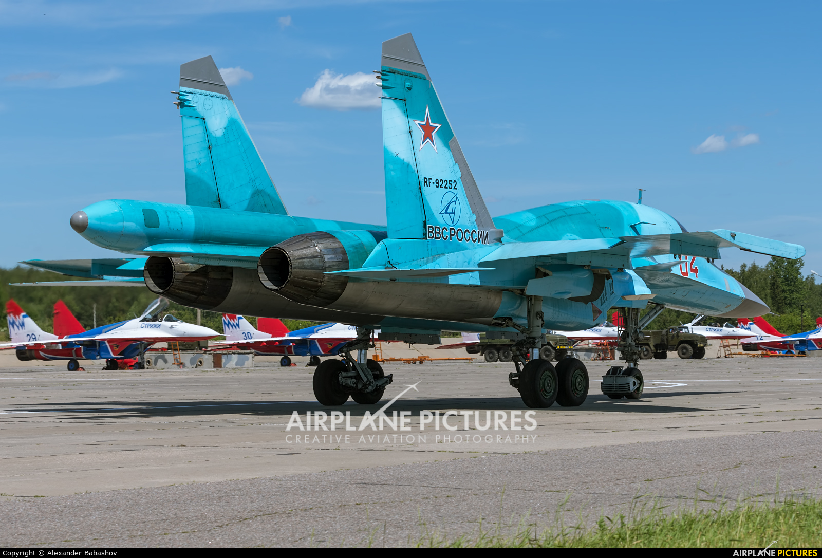 Russia - Air Force RF-92252 aircraft at Kubinka