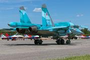RF-92252 - Russia - Air Force Sukhoi Su-34 aircraft