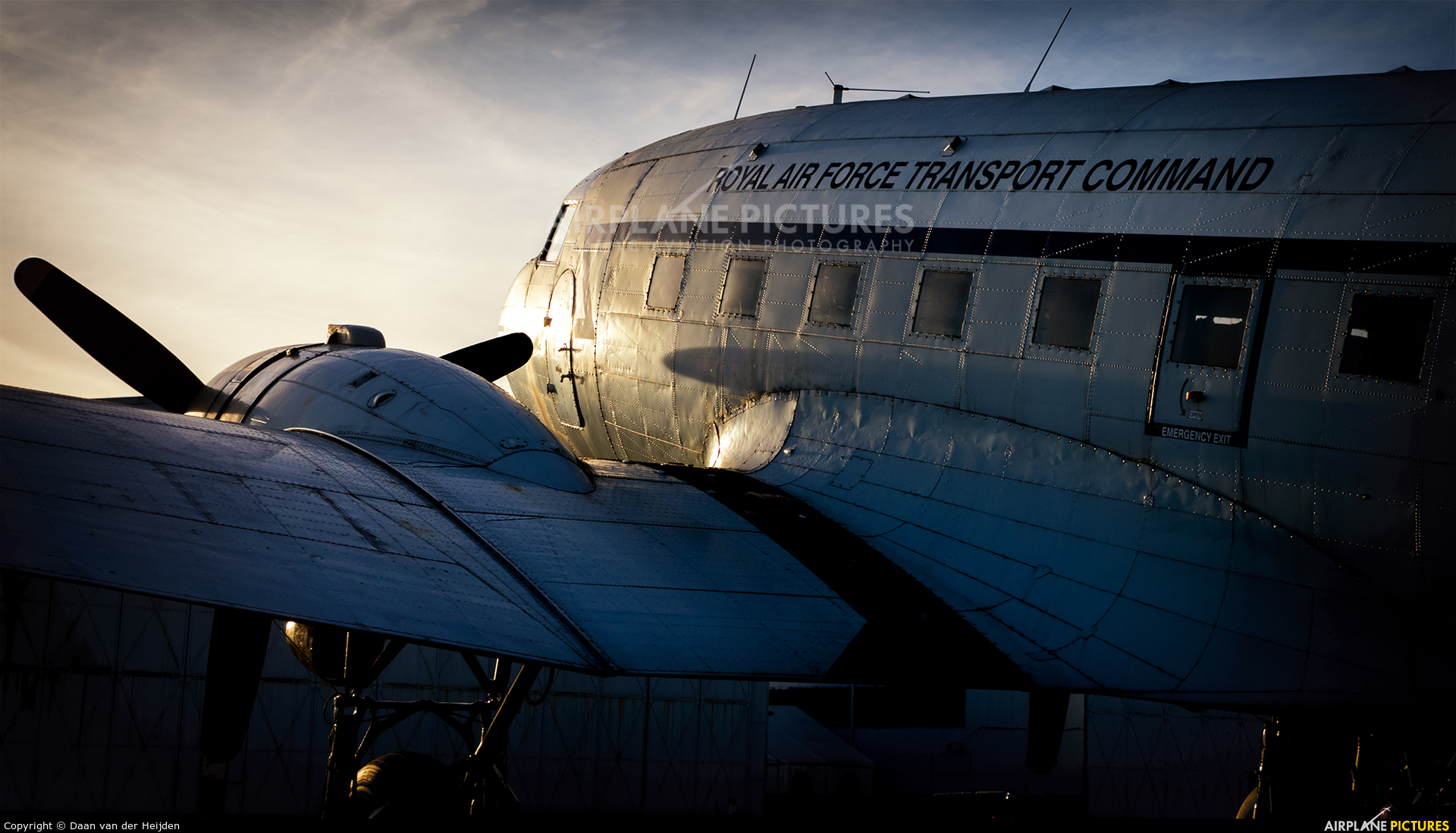 Royal Air Force Transport Command - aircraft at Coventry