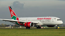 5Y-KZE - Kenya Airways Boeing 787-8 Dreamliner aircraft