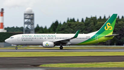 JA01GR - Spring Airlines Japan Boeing 737-800