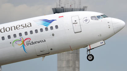PK-GEN - Garuda Indonesia Boeing 737-800