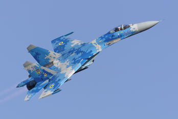58 - Ukraine - Air Force Sukhoi Su-27UB