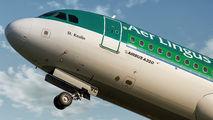 EI-CVC - Aer Lingus Airbus A320 aircraft