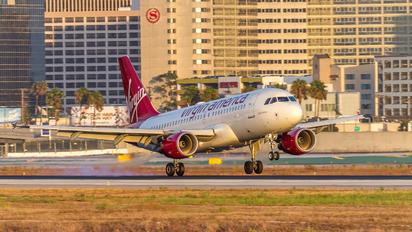 N530VA - Virgin America Airbus A319
