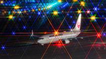 JA341J - JAL - Japan Airlines Boeing 737-800 aircraft