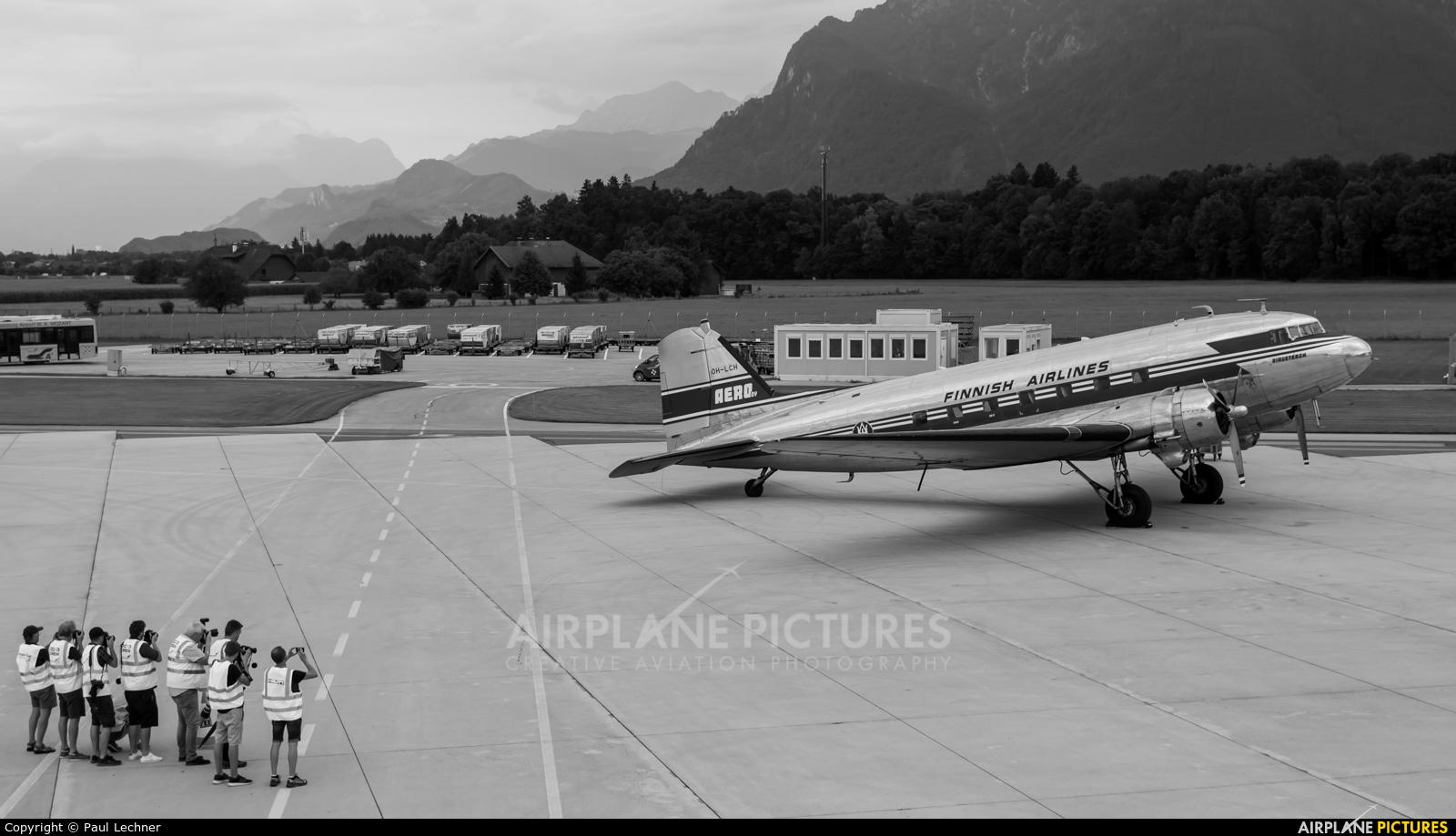 Private OH-LCH aircraft at Salzburg