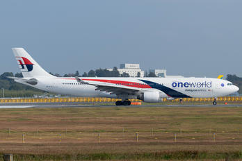 9M-MTO - Malaysia Airlines Airbus A330-300