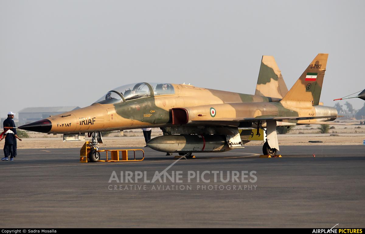 Iran - Islamic Republic Air Force 3-7182 aircraft at Kish Island