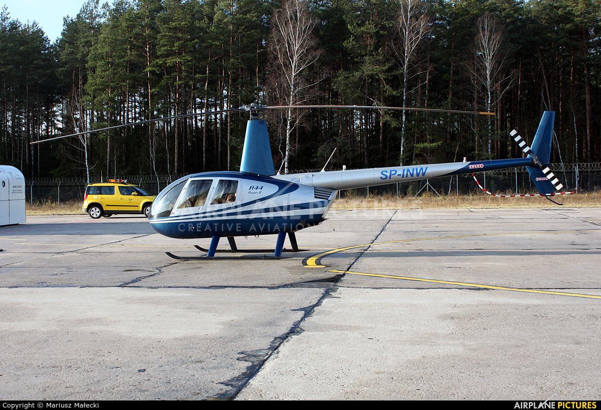 Private SP-INW aircraft at Olsztyn Mazury Airport (Szymany)