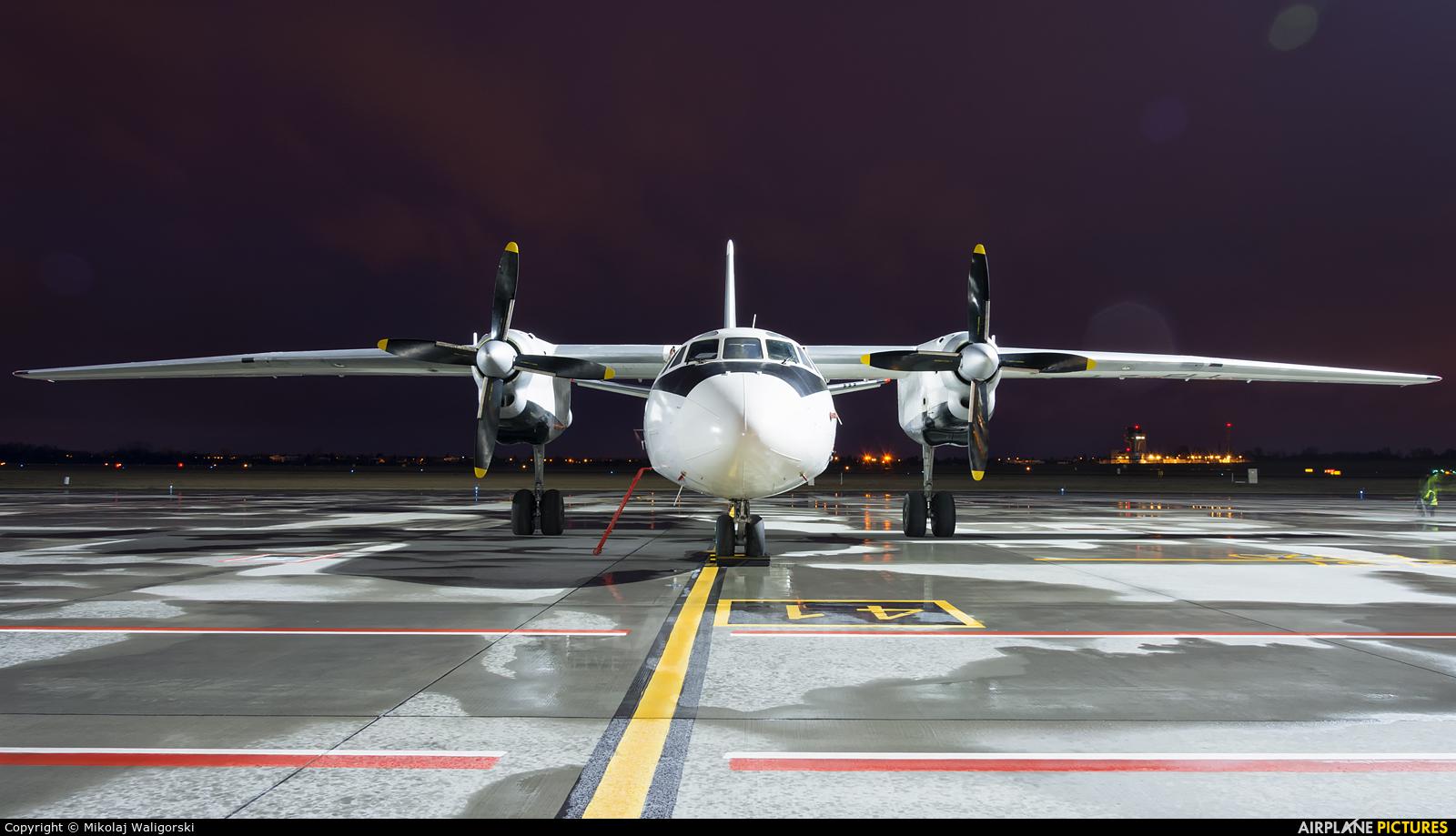 Bright Flight LZ-FLL aircraft at Poznań - Ławica