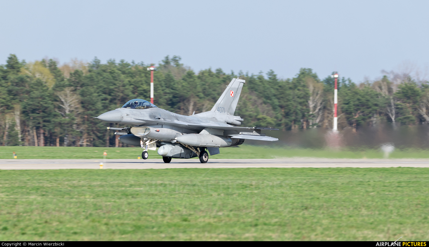 Poland - Air Force 4071 aircraft at Łask AB