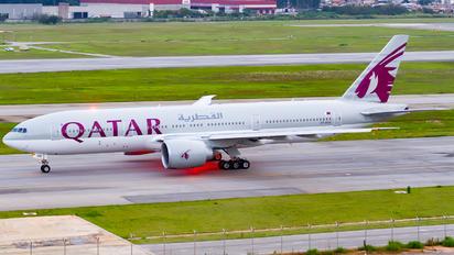 A7-BBB - Qatar Airways Boeing 777-200LR