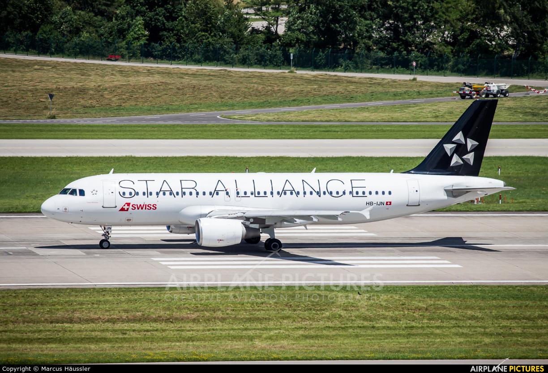 Swiss HB-IJN aircraft at Zurich