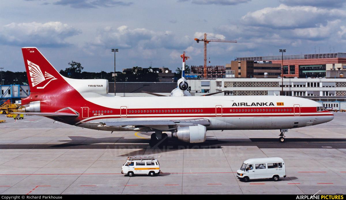 Air Lanka 4R-ULM aircraft at Frankfurt