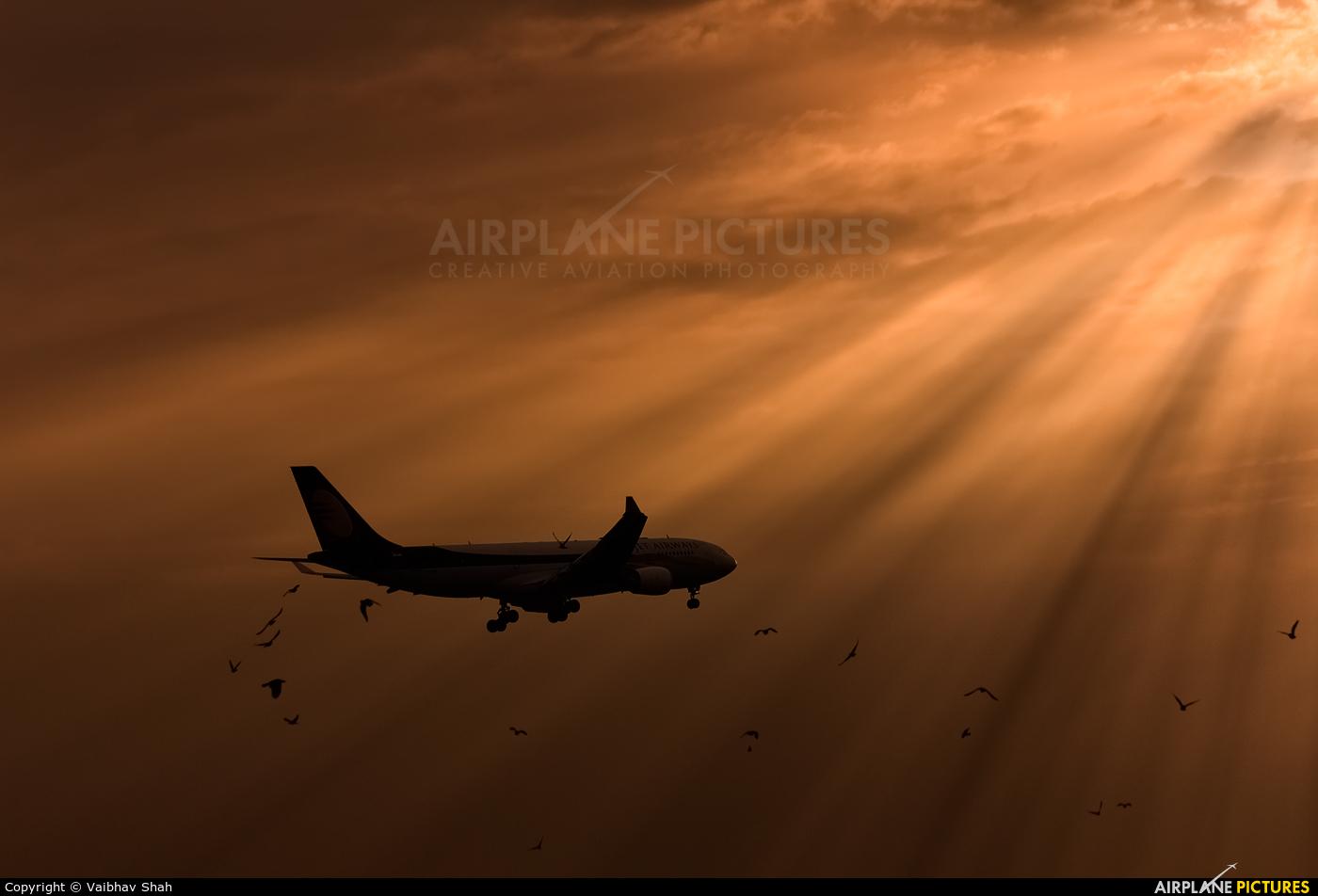 Jet Airways VT-JWQ aircraft at Mumbai - Chhatrapati Shivaji Intl
