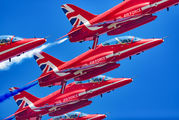 "XX310 - Royal Air Force ""Red Arrows"" British Aerospace Hawk T.1/ 1A aircraft"