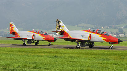 E.25-87 - Spain - Air Force : Patrulla Aguila Casa C-101EB Aviojet