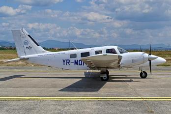 YR-MDF - Scoala Superioara de Aviatie Civila Piper PA-34 Seneca