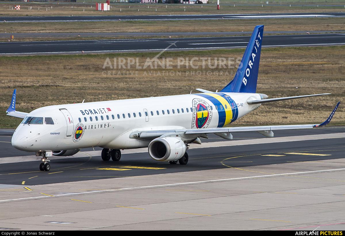 Bora Jet Airlines TC-YAT aircraft at Berlin - Tegel