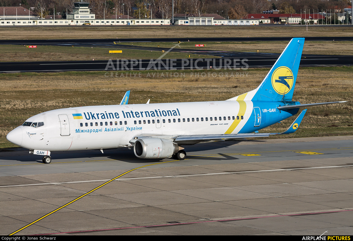 Ukraine International Airlines UR-GAH aircraft at Berlin - Tegel