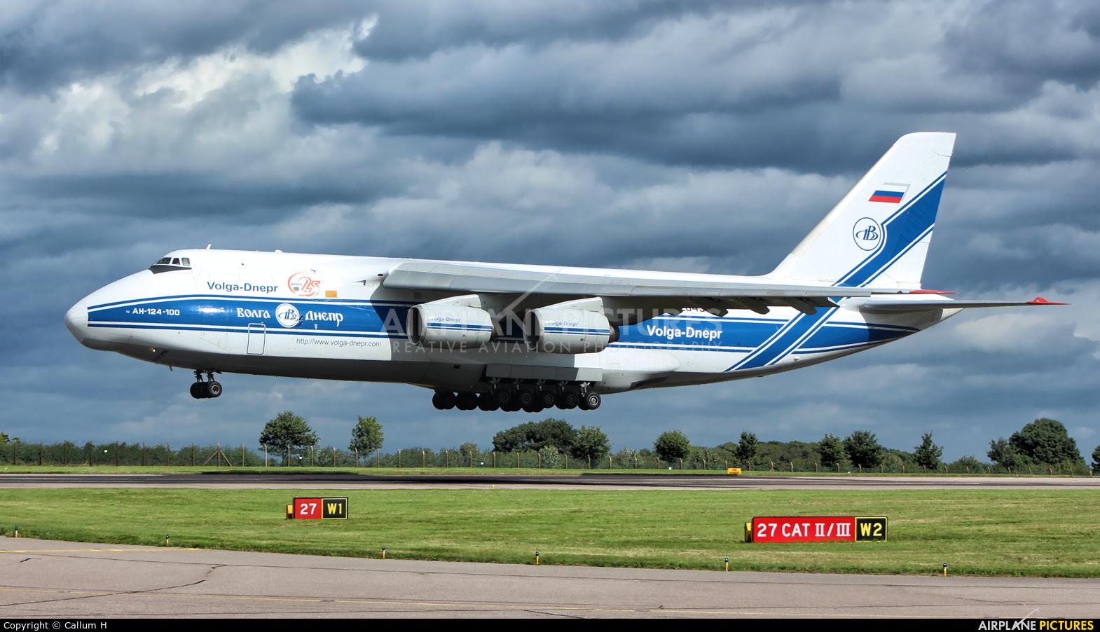Volga Dnepr Airlines RA-82043 aircraft at East Midlands