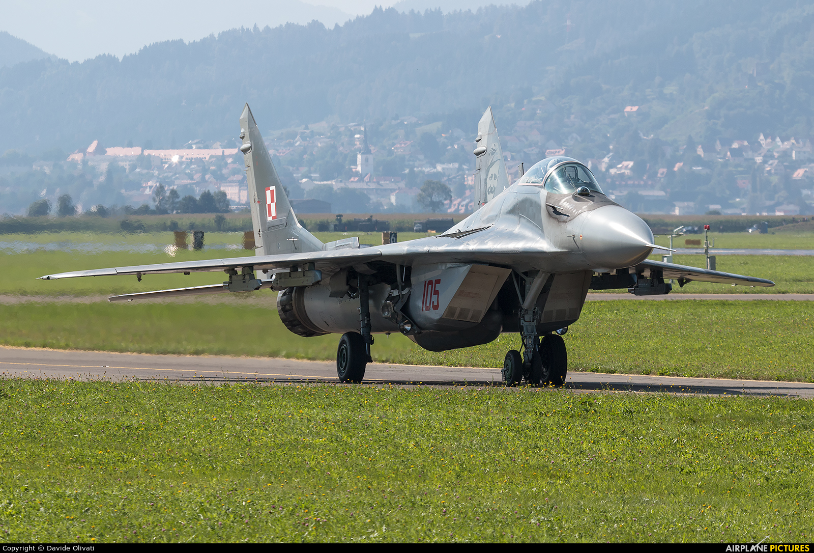 Poland - Air Force 105 aircraft at Zeltweg