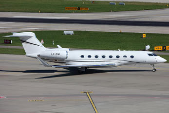 LX-GVI - Global Jet Luxembourg Gulfstream Aerospace G650, G650ER