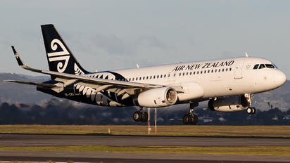 ZK-OXA - Air New Zealand Airbus A320