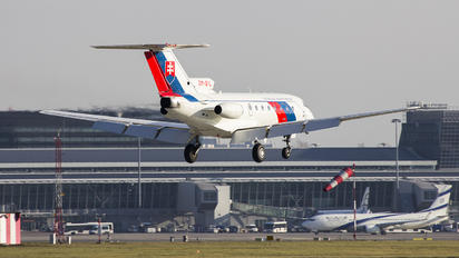 OM-BYL - Slovakia - Government Yakovlev Yak-40