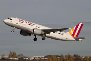 D-AIQN - Germanwings Airbus A320