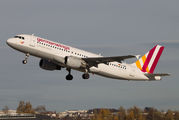D-AIQN - Germanwings Airbus A320 aircraft