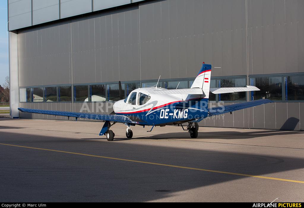 FlyTyrol OE-KMG aircraft at Augsburg