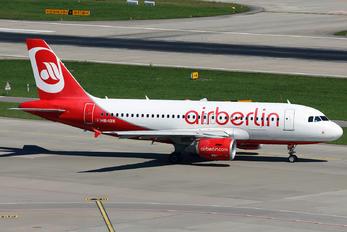 HB-IOX - Air Berlin - Belair Airbus A319