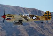 NL85104 - Air Museum Chino Curtiss P-40N Warhawk aircraft