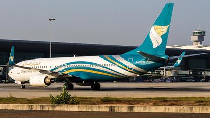 A4O-BR - Oman Air Boeing 737-800
