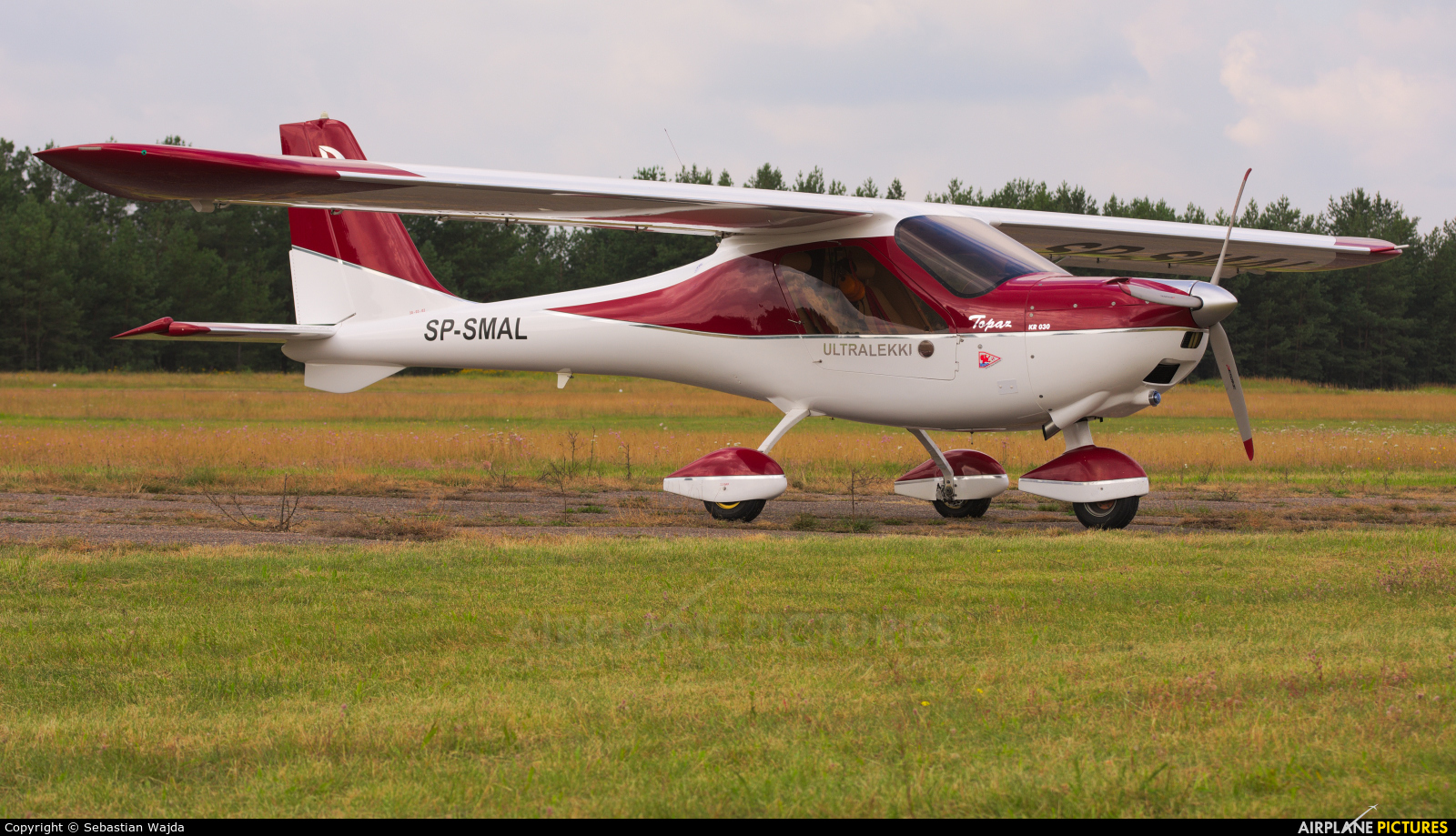 Private SP-SMAL aircraft at Borne Sulinowo
