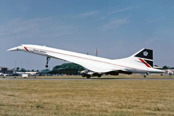G-BOAB - British Airways Aerospatiale-BAC Concorde