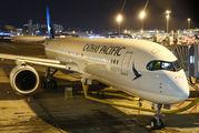 B-LRF - Cathay Pacific Airbus A350-900 aircraft