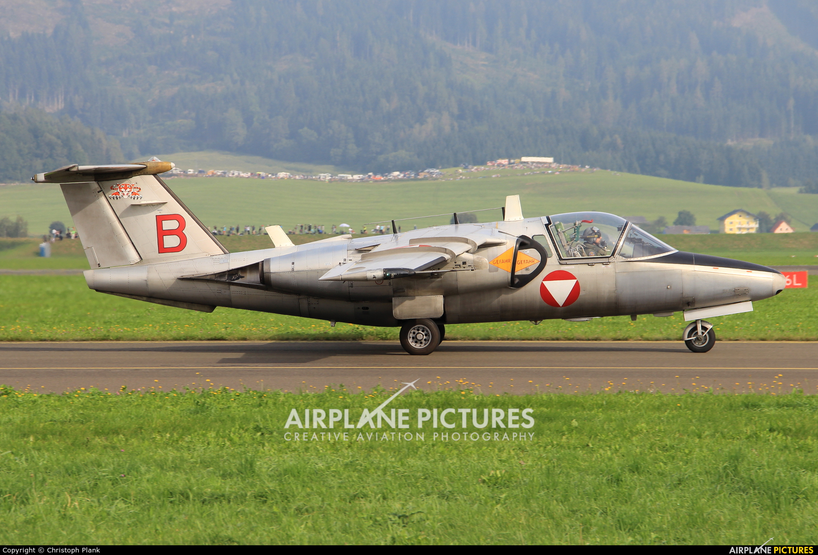 Austria - Air Force RB-22 aircraft at Zeltweg