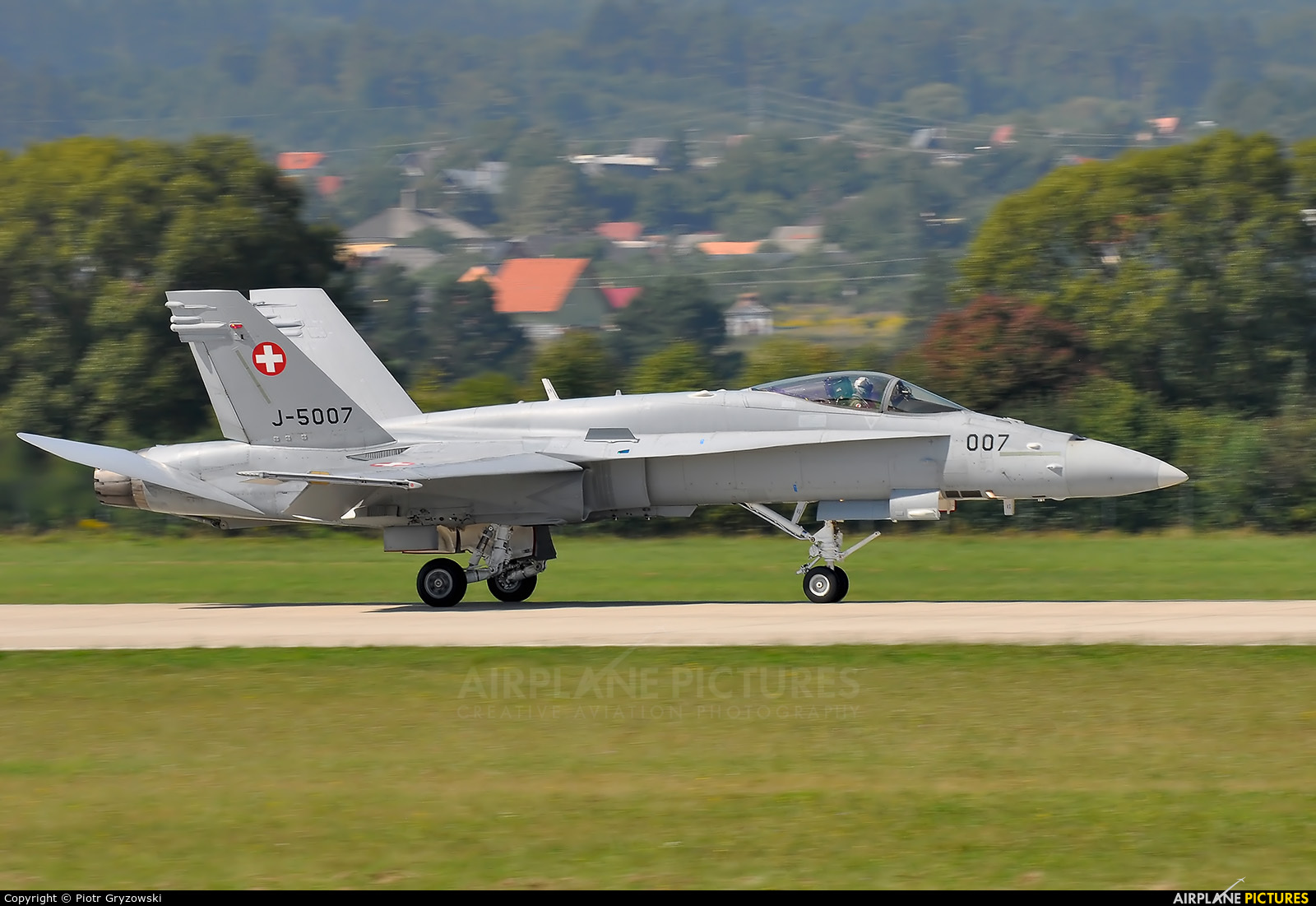 Switzerland - Air Force J-5007 aircraft at Sliač