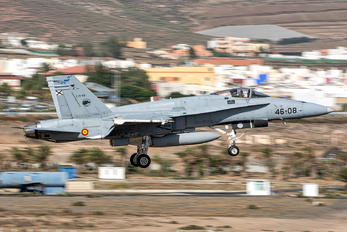 C.15-80 - Spain - Air Force McDonnell Douglas F/A-18A Hornet