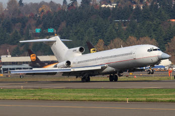 N289MT - Raytheon Flight Test Operations Boeing 727-200 (Adv)