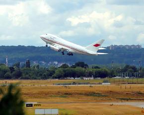 A9C-HAK - Bahrain Amiri Flight Boeing 747-400