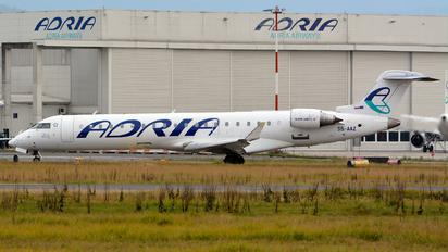 S5-AAZ - Adria Airways Bombardier CRJ-700