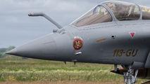 113-GU - France - Air Force Dassault Rafale C aircraft